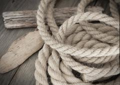 Nautical background - stock photo