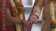 2014 03 10 2078 wedding indian ceremony walking Stock Footage
