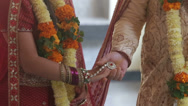 Stock Video Footage of 2014 03 10 2078 wedding indian ceremony walking