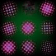 Spotted flash (vector design element). EPS 8 - stock illustration