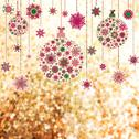 Stock Illustration of Stylized Christmas balls, on elegant. EPS 10