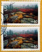 USA stamp Stock Photos