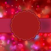 Stock Illustration of Glittery multicolor Christmas background. EPS 8