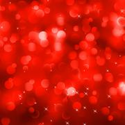 Stock Illustration of Glittery red Christmas background. EPS 8