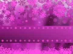 Christmas background with white snowflakes. EPS 8 Stock Illustration