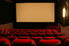 Cinema screen Stock Photos