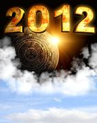 2012. Maya prophecy - stock illustration