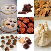 coocies and sweets collection - stock photo