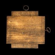 Wooden rectangular piece - stock photo