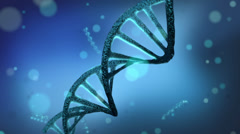 DNA strands Stock Footage