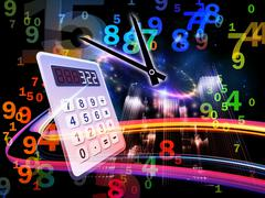Stock Illustration of Deadline Calculations