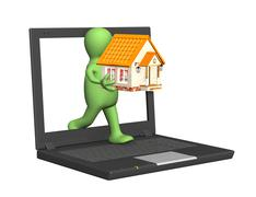 Stock Illustration of Home Internet