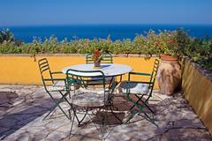 Mediterranean vacations Stock Photos