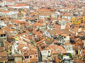 Stock Photo of rooftops of venice