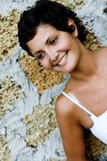 Stock Photo of beautiful brunet woman