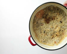 dirty burned enamel saucepan pot - stock footage