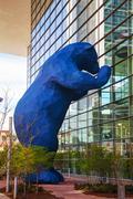 Colorado convention center on a sunny day Stock Photos