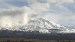 Mount Ruapehu eastern side Stock Footage