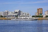 Stock Photo of Passenger boat (city of Blagoveshchensk)