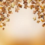 Abstract autumnal backgrounds template. EPS 10 Stock Illustration