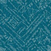 Mathematics seamless. EPS 10 - stock illustration