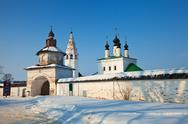 Stock Photo of Alexander's monastery at Suzdal