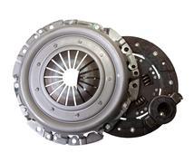 auto parts - automotive  clutch - stock photo