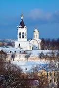 Nativity Monastery at Vladimir - stock photo