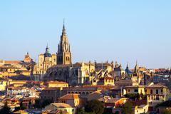 Primate Cathedral of Saint Mary in  Toledo, Spain Stock Photos