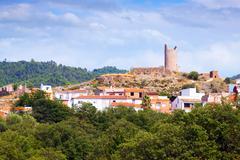 El Pilon tower in Matet - stock photo
