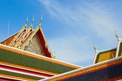 Temple Wat Pho in Bangkok Stock Photos