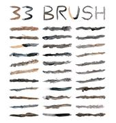 Stock Illustration of dirty brushes