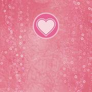 Heart of polka dot paper. And also includes EPS 8 - stock illustration