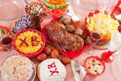 Easter meal Kuvituskuvat