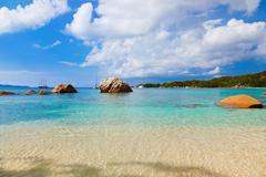 Beach Anse Lazio - Seychelles Stock Photos
