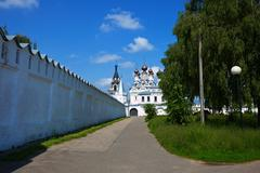 Annunciation Monastery at Murom Stock Photos