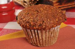 Bran muffin Stock Photos