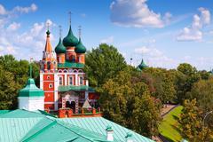 Church of the Archangel Michael in Yaroslavl Stock Photos