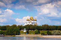 Assumption Cathedral in Yaroslavl Stock Photos