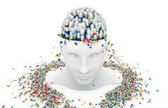 Pharmacy, health and medicine focus on drug abuse Stock Illustration