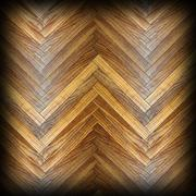 Beautiful model of wood floor with added vignette, spruce planks arranged for Stock Illustration