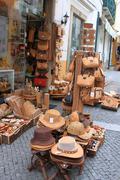 Cork souvenirs in Evora Portugal Stock Photos