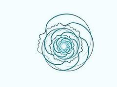 Unfolding of Soul Geometry Stock Illustration