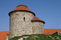 Stock Photo of Rotunda of Saint Catherine in Znojmo