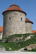 Rotunda of Saint Catherine in Znojmo Stock Photos