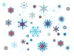 Winter holiday background  - stock illustration