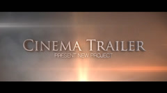 Stock After Effects of Film Trailer (Unlimited)