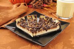 Gourmet cheesecake Stock Photos