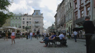 Stock Video Footage of Ukraine, L'viv city atmosphere .Timelapse. May 28, 2014