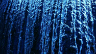 Stock Video Footage of Waterfalls Blue 96fps 02 Slow Motion x4 60 seconds